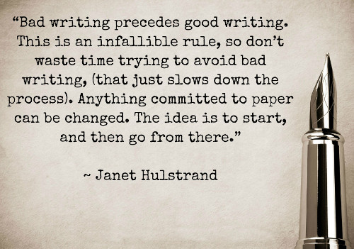 Bad Writing Quote
