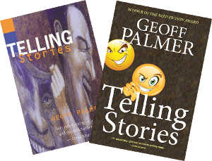 Telling Stories - two covers